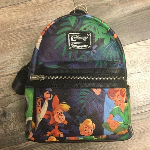 Disney Handbags - Disney Loungefly Peter Pan Backpack